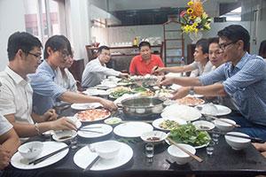 'Bữa trưa hội nhập' tại Thiên Ân